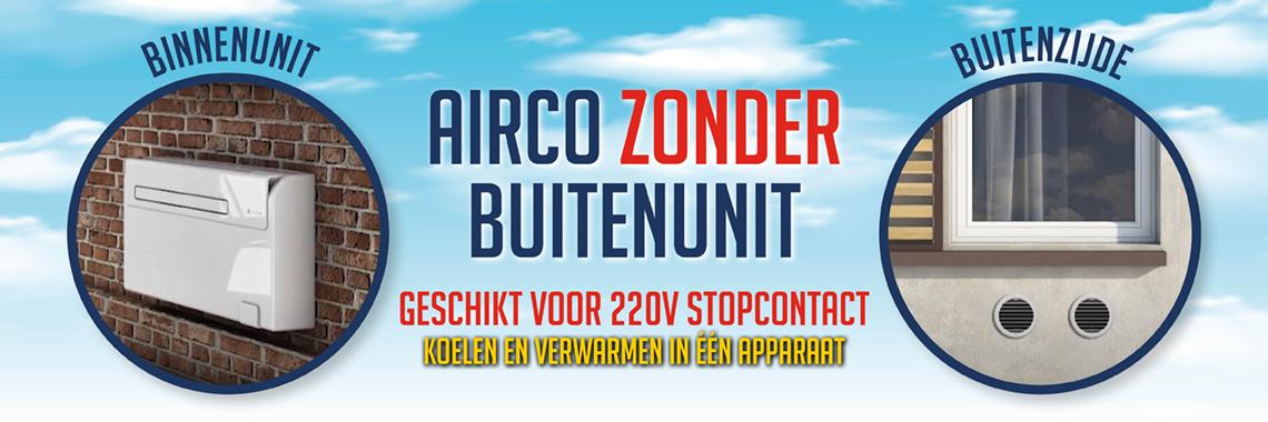 Airco zonder buitenunit
